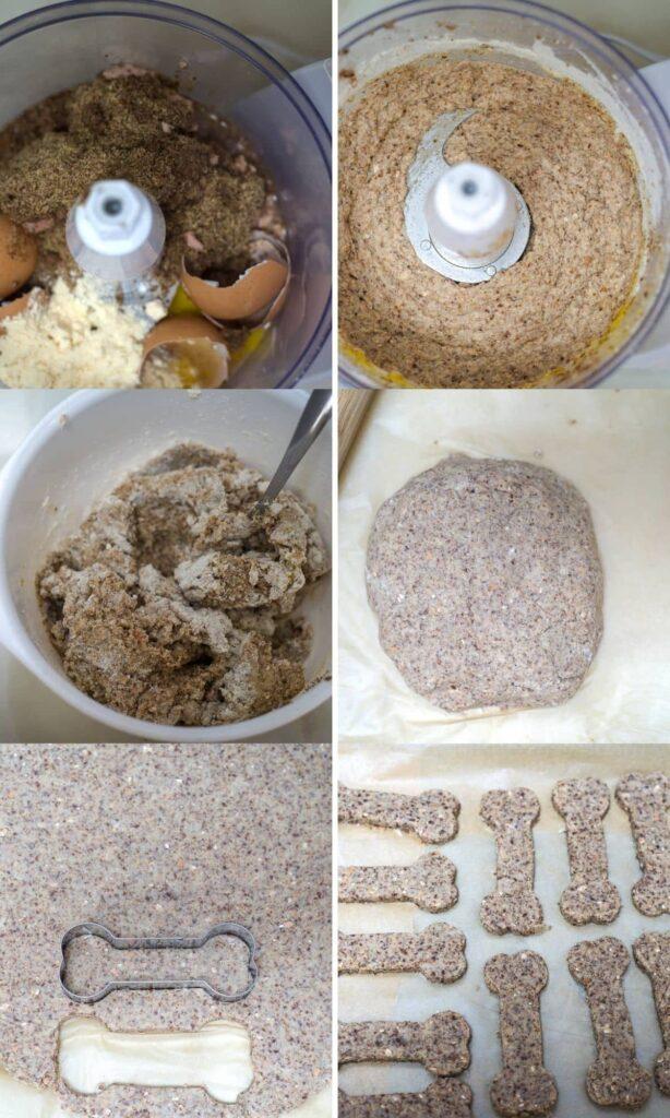 tuna cookies process shots